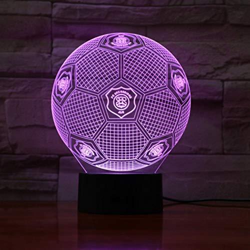 Aue Football 3D Lampe Raum dekorative Lampe Kind Kinder Kit Deutsch Soccer FC LED Nachtlicht