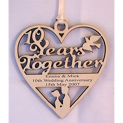 Wedding Anniversary Gift List: 10 Years Wedding Anniversary Gifts: Amazon.co.uk