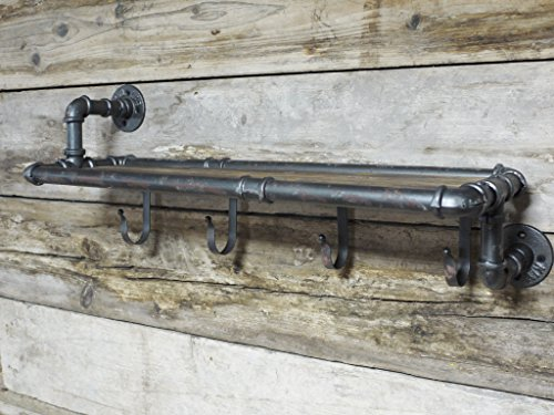 Urban estilo industrial hierro tubería agua efecto