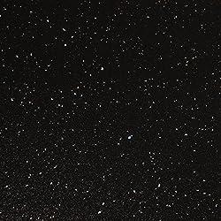 WORKTOPEXPRESS Black Sparkle Effect Laminate Kitchen Worktops - Andromeda (Upstand 3000 x 120 x 18mm)