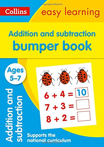Addition and Subtraction Bumper Book Ages 5-7 (Collins Easy Learning KS1) por Collins Easy Learning