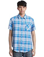 Timberland Linen Pelham Plaid Men's Shirt