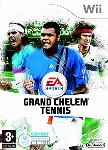Jeux Wii Tennis - Grand Chelem Tennis + Wii Motion