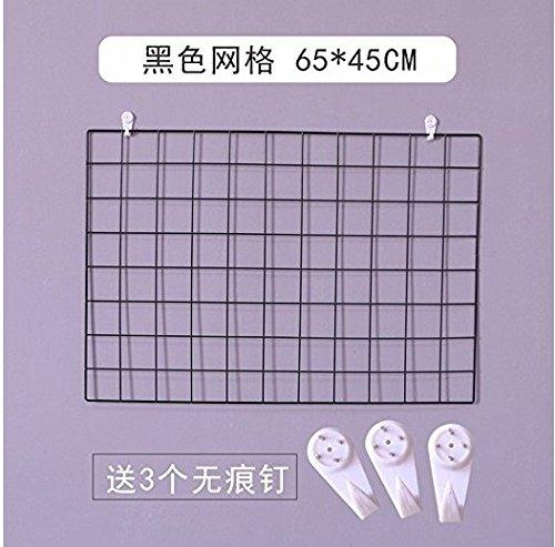 KINEJ la décoration des Mailles Mur Mur de Photos,épaissir Dur 65 * 45 [Noir]