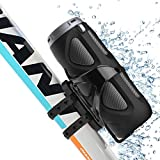 Avantre Altavoz 10W Bluetooth Bicicleta con soporte, Impermeable (IPX4), enganche para Uso...