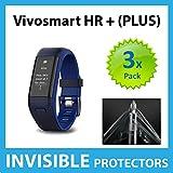 Ace Case unsichtbarer Displayschutz, für Garmin Vivosmart HR+ Plus, 3 Stück