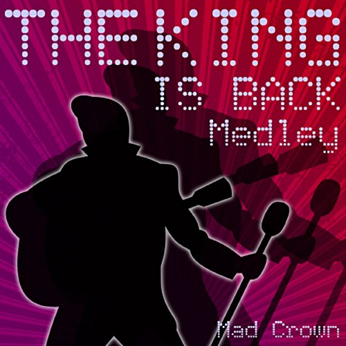 The King Is Back Medley: Shot Me Down / Heartbreak Hotel / Song / Good Luck Charm / Return to Sender / Stuck on You / Burnin' Love / Jailhouse Rock / Teddy Bear / Blue Suede Shoes / Baby I Don't Care / Hard Headed Woman / Rip It Up (Bear Care Blue)