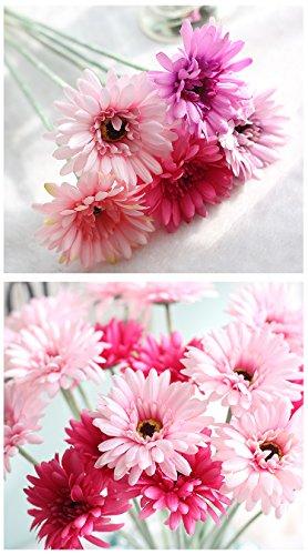on Sonnenblume Simulation Blume Gerbera Exporte Home Dekorative Künstliche Blumen Simulation Pflanzen, Plastik, Rose, 21inches ()