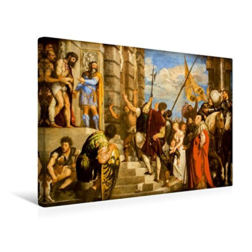 Calvendo Premium Textil-Leinwand 45 cm x 30 cm Quer, Ein Motiv aus Dem Kalender Tiziano Vecellio -...