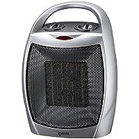 Igenix IG9030 PTC Ceramic Fan Heater, 1800 W - Silver