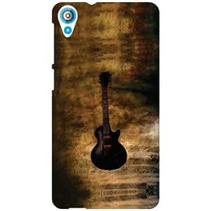 HTC Desire 820 Back Cover - Guitar Designer Cases