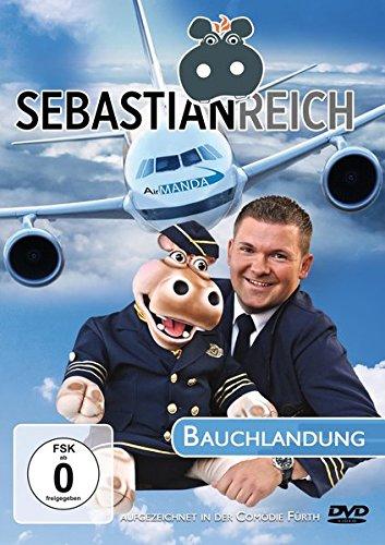 Sebastian Reich & Amanda - Bauchlandung: Soloprogramm, Nilpferd-Comedy, Bauchreden