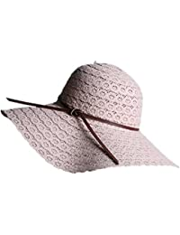 880093c1f17 JUNGEN Foldable Sun Hat for Women Floppy Hat Bucket Hat for Girls Straw Hat  for Ladies