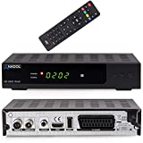 Anadol HD 202c Plus digitaler Full HD 1080p Kabel Receiver [Umstieg Analog auf Digital] (HDTV, DVB-C/C2, HDMI, SCART, Mediaplayer, USB 2.0) – schwarz