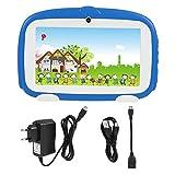 VBESTLIFE 7 Zoll Tablet PC,Dual Kamera WiFi Mini Learning Tablet,1G + 8 GB für Kinder Früherziehung,unterstüzt Android 4.4(Blau)