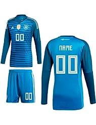 Adidas DFB Deutschland Torwart Trikot Home WM 2018 Herren Kinder Manuel Neuer 1 blau