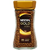 Nescafé Gold Natural - Café Soluble - Pack de 3 x 100 g