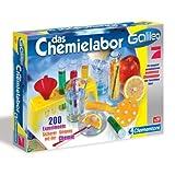 Clementoni 69229 - Galileo - Das Chemielabor 200 Experimente Experimentierkasten