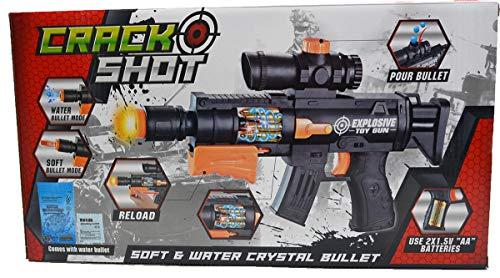 Crazy Gun Wasser Spielzeug Comic Pistole Gewehr Soft Dart Spezialeinheit Sound Elite Gewehr