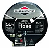 Best Briggs & Stratton Rubber Garden Hoses - Briggs and Stratton 8BS50 50-Foot Premium Heavy-Duty Rubber Review