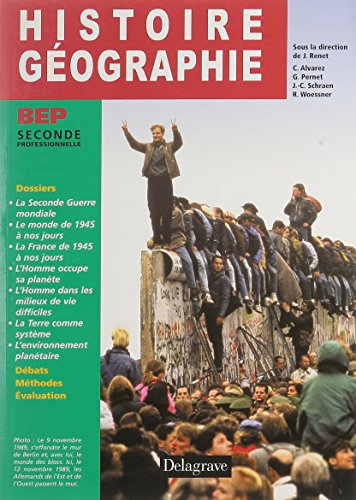 Histoire Géographie BEP seconde professionnelle