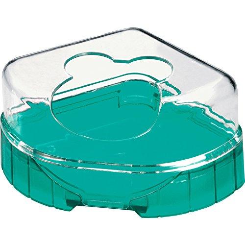 RODY LOUNGE TOILET HOUSE Bleu Lagon toilettes pour hamster,souris, gerbilles/ZOLUX