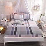 MSM Baumwolle Matratze Topper, Weich Komfort Blume Matratze Geldklammer Schlafzimmer Wohnzimmer Futon Bett roll-E 100x200cm(39x79inch)