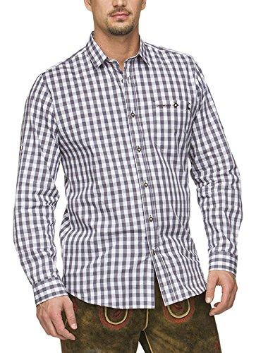 Stockerpoint Herren Freizeithemd Hemd Mitchel, Grau (Grau), X-Large