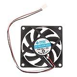 Portátil de ordenador CPU Cooler 12V 7cm 70mm PC ventilador de refrigeración