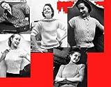 Plus de modèles tricot pour les chandails des femmes (French Edition)