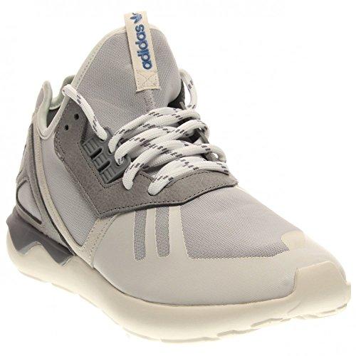 Hommes Adidas Tubular Runner noir / brun 11 Courir Athletic B35641 Vintage White