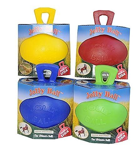 Pferde Spielball Pferdespielball Jolly Ball für Pferde und gr.Hunde Jollyball | Spielball für Pferde | Pferdeball | Pferdespielball Horsemen´s Pride