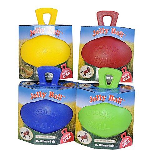 Amesbichler Pferde Spielball Pferdespielball Jolly Ball für Pferde und gr.Hunde Jollyball | Spielball für Pferde | Pferdeball | Pferdespielball Horsemen´s Pride -