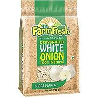 Jain Farm Fresh Dehydrated White Onion - Large 200g