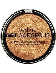 Technic Get Gorgeous 24 ct Gold Highlighting Powder, 6g - ukpricecomparsion.eu