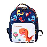 Best Disney Princess Gift For A 2 Year Olds - Cute Kids Cartoon Dinosaur Backpack Toddler School Bag Review