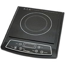 First FA5095-1 - Hornillo eléctrico portátil (1 placa, 500-2000W) Placa de inducción