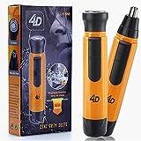 LK668 : Nose Hair Trimmer For Nose Ear Sideburns Beard Hair Shaving Scissors Scraping Women Eyebrows Shaper Shaping...