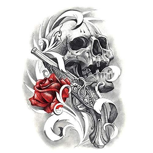 Adgkitb Shantou Rose Pegatinas Tatuajes Prueba Agua