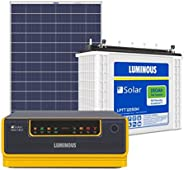 Luminous Solar Home Solution NXG1100 & 150Ah Solar Tubular Battery & 150W Poly Cry