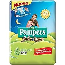 Pampers - Sole e Luna - Pañales - Talla 6 (15 - 30 kg) - 14 pañales
