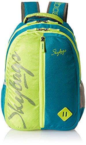 Skybags 25 Ltrs Teal School Backpack (BPLEO6TEL)