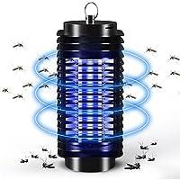 LayOPO Lámpara Mosquitos Electrónica, 360° Bug Zapper Mosquito de la Lámpara con luz UV Insect Zapper Killer para Interior de Casa