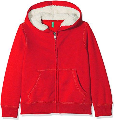 United Colors of Benetton Jacket W/Hood L/s Chaqueta, Rojo Red 21l, 104 Talla del Fabricante: XX...