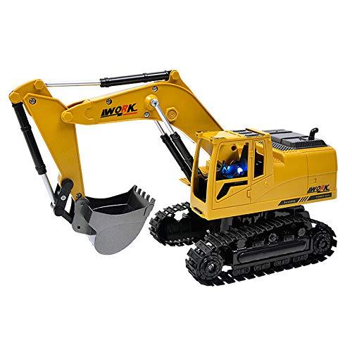 RC Auto kaufen Kettenfahrzeug Bild 3: Hunpta@ Fernbedienung Auto 1:14 rc LKW 15 Kanal voll funktionale Fernbedienung Bagger Bau Traktor Spielzeug Geschenk (A)*