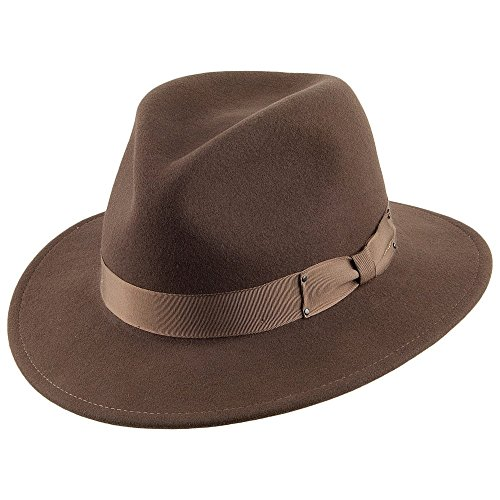 Village Hats Chapeau Fedora Déformable Curtis II Serpent Bailey - Large