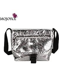 HITSAN INCORPORATION Fashion Girls Mirror Reflection Messenger Bags PU  Leather Crossbody Bags Ladies Handbags Shoulder Messenger db8c9bc936