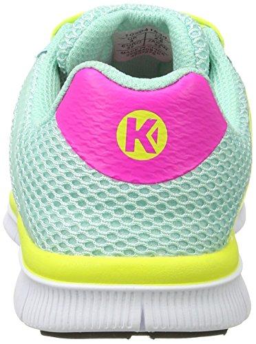 Kempa K-Float, Scarpe da Pallamano Unisex-Adulto Turchese (Turquoise/jaune Spring)