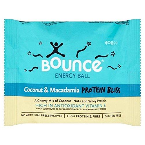 Bounce Kokosnuss und Macadamia Proteine??Ball beatitudine 40g (Packung von 6) (Bounce-walker)