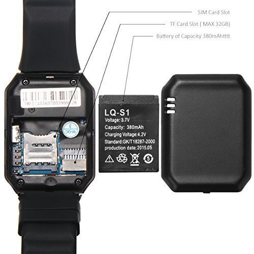OPTA Bluetooth Smart Watch Phone With Camera and Sim Card Support